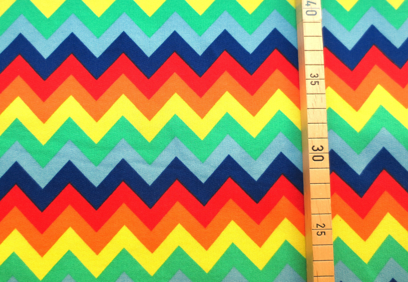 Sweat Regenbogen - Zickzack - Chevron