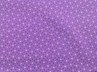 Baumwollstoff - lila - 100 Baumwolle