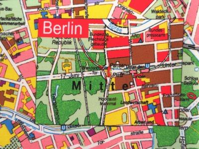French Terry Berlin - Berlin Stadtplan