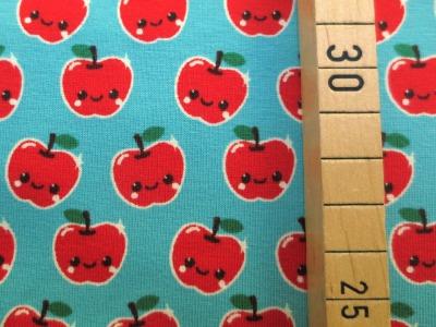 Jersey Äpfel - hellblau
