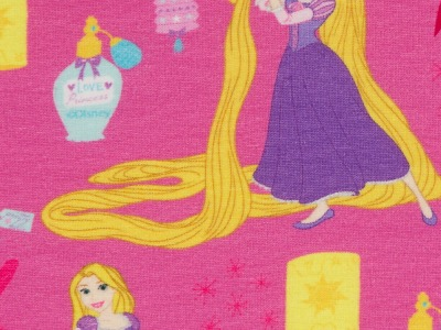 Jersey Rapunzel - Disney - pink