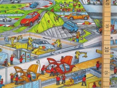 Jersey Wimmelbuch - Autos - Autowerkstatt