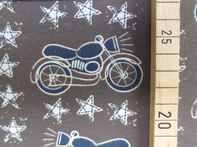 Jersey Motorrad - schlammgrau