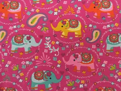 Jersey Elefant - pink - Bohostil