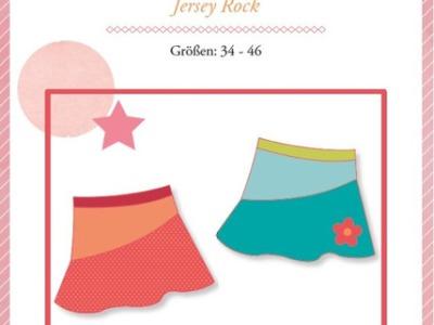 Papierschnittmuster Lady Kenya Jersey Rock