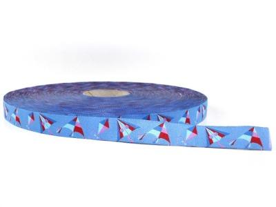 Webband Drachenflug - Himmelblau - Drache