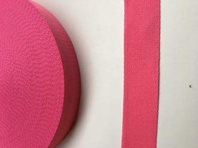 Gurtband - 40 mm - rosa