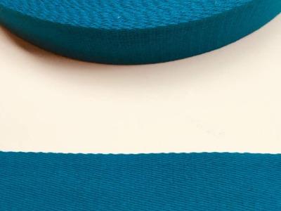 Gurtband - 40 mm - petrol