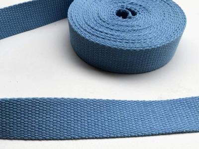 Gurtband - 30 mm - hellblau
