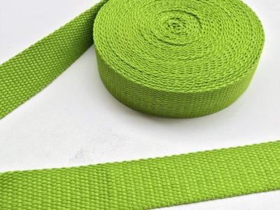Gurtband - 30 mm - hellgrün