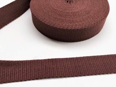 Gurtband - 30 mm - braun