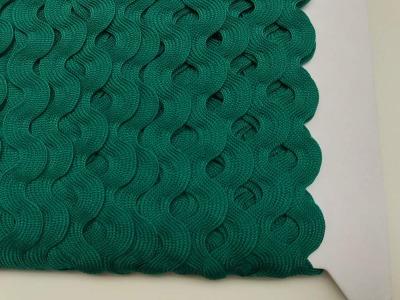 Zackenlitze dunkelgrün 17 mm