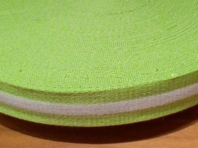 Gurtband - 40 mm - grün