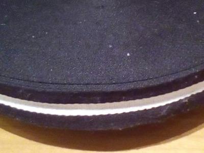 Gurtband - 40 mm - schwarz