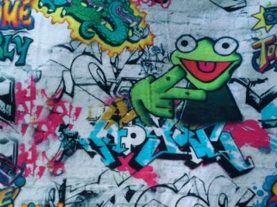 Jersey Graffiti - Frosch - bunt