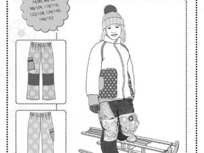 Schnittmuster Yuki Schneehose