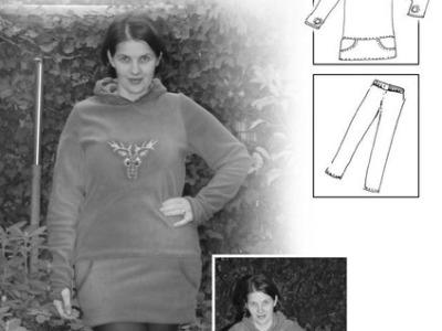 Schnittmuster Helena Kuschelpulli und Leggings