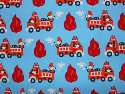 Jersey Feuerwehr hellblau