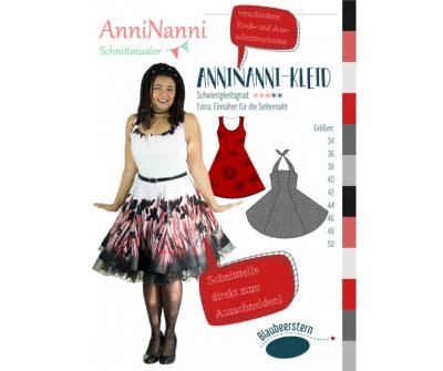 AnniNanni-Kleid von AnniNanni - Papierschnittmuster -