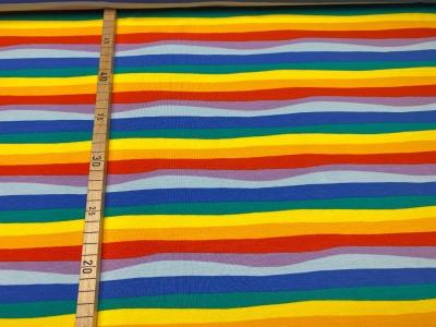 Jersey Regenbogen - unregelmäßige Streifen