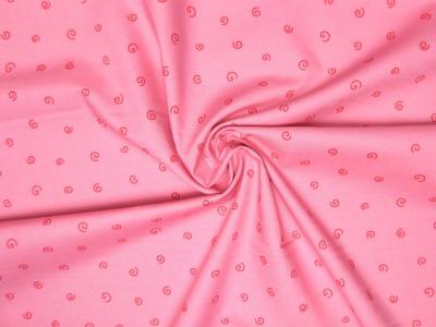 Baumwollstoff Kringel rosa-rot Westfalenstoffe 100 Baumwolle