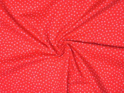 Baumwollstoff Punkte rot-rosa Westfalenstoffe 100 Baumwolle