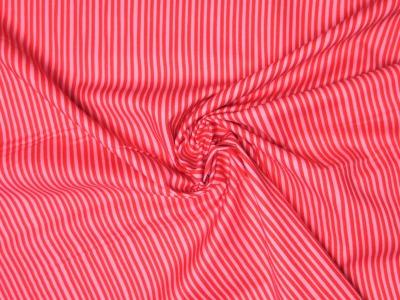 Baumwollstoff Streifen rosa-rot Westfalenstoffe 100 Baumwolle