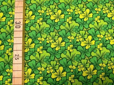 Stoff Klee grün 100 Baumwolle Patchwork