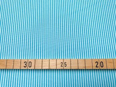 Stoff Streifen türkis/weiß 100 Baumwolle Patchwork