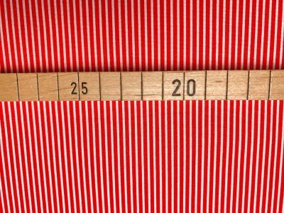 Stoff Streifen rot/weiß 100 Baumwolle Patchwork