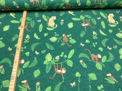 Bio-Jersey Affen - grün