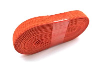 2m Gummiband orange - 1 cm