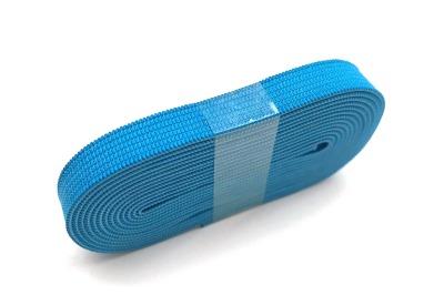 2m Gummiband türkis - 1 cm