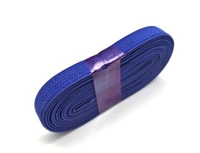 2m Gummiband blau - 1 cm