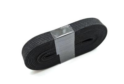 2m Gummiband schwarz - 1 cm