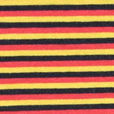 Jersey Deutschlandfahne Ringel schmal schwarz rot