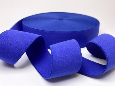 Gummiband Uni - kobaltblau - 4