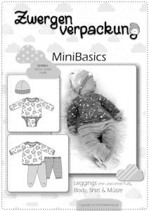 Papierschnittmuster MiniBasics Babyschnittmuster - Farbenmix