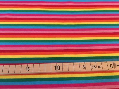 Jersey Regenbogen - schmale Ringel
