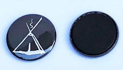 Buttonmagnet mit Kohte 3cm Durchmesser