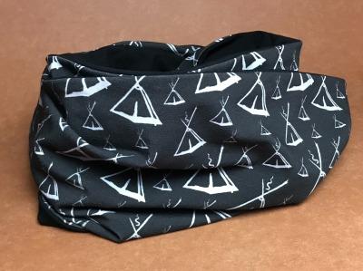 Loop-Schal mit Kohtenmuster - Eigendesign