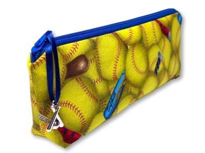Softball Stiftetasche - Federtasche - Mäppchen