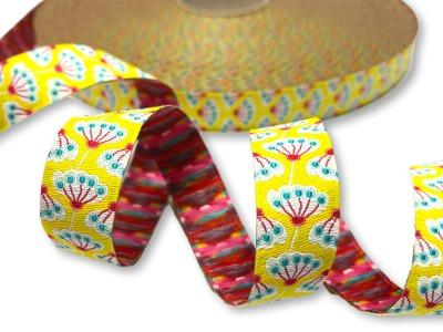Webband Pusteblume - gelb - Fancy