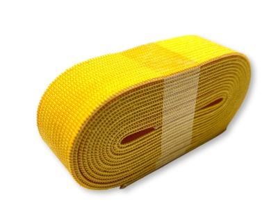 2m Gummiband gelb - 2 cm