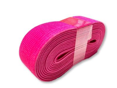2m Gummiband pink - 2 cm