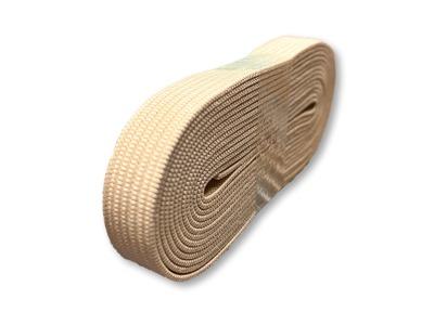 2m Gummiband sand - 1 cm