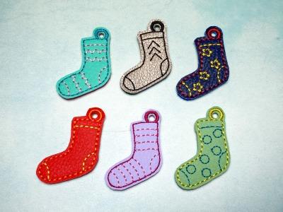 Schlüsselanhänger Socken Set Welt Down Syndrom