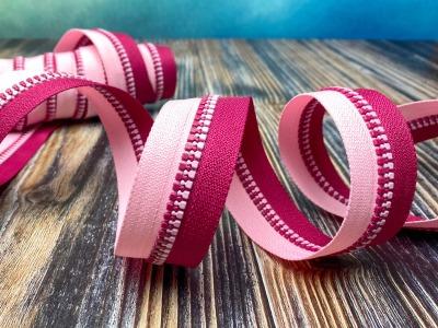 Endlos-Reißverschluss pink/rosa - Eigenproduktion - 20