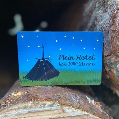 Pfadfinder Magnet Motiv Mein Hotel hat