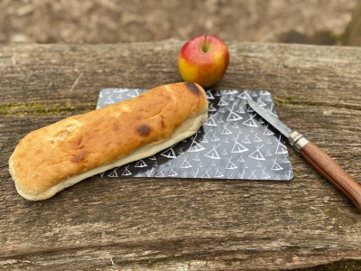 Frühstücksbrettchen Kohtendruck - Allover Motiv